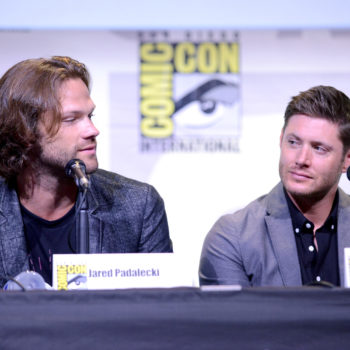 Jared Padalecki and Jensen Ackles put on tuxes, remind us that they're supernaturally good looking