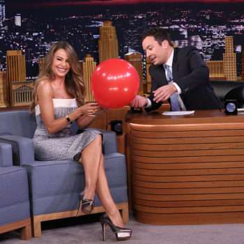 Sofia Vergara hilariously sucks helium during Jimmy Fallon interview and we can't stop laughing