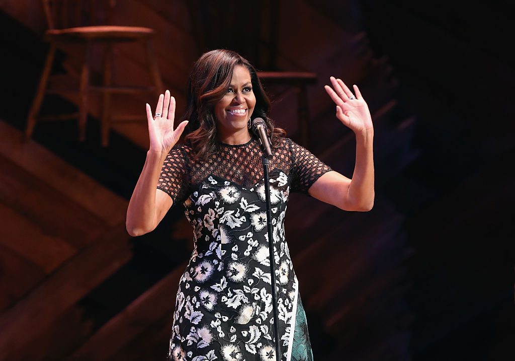 Michelle Obama dishes on what she loves about Beyoncé, and we're listening