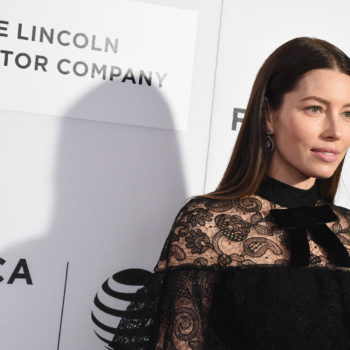 Jessica Biel just *seriously* changed her hair, and it looks incredible