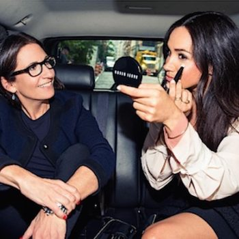 If you take an Uber today, you might get a makeup lesson with the legendary Bobbi Brown