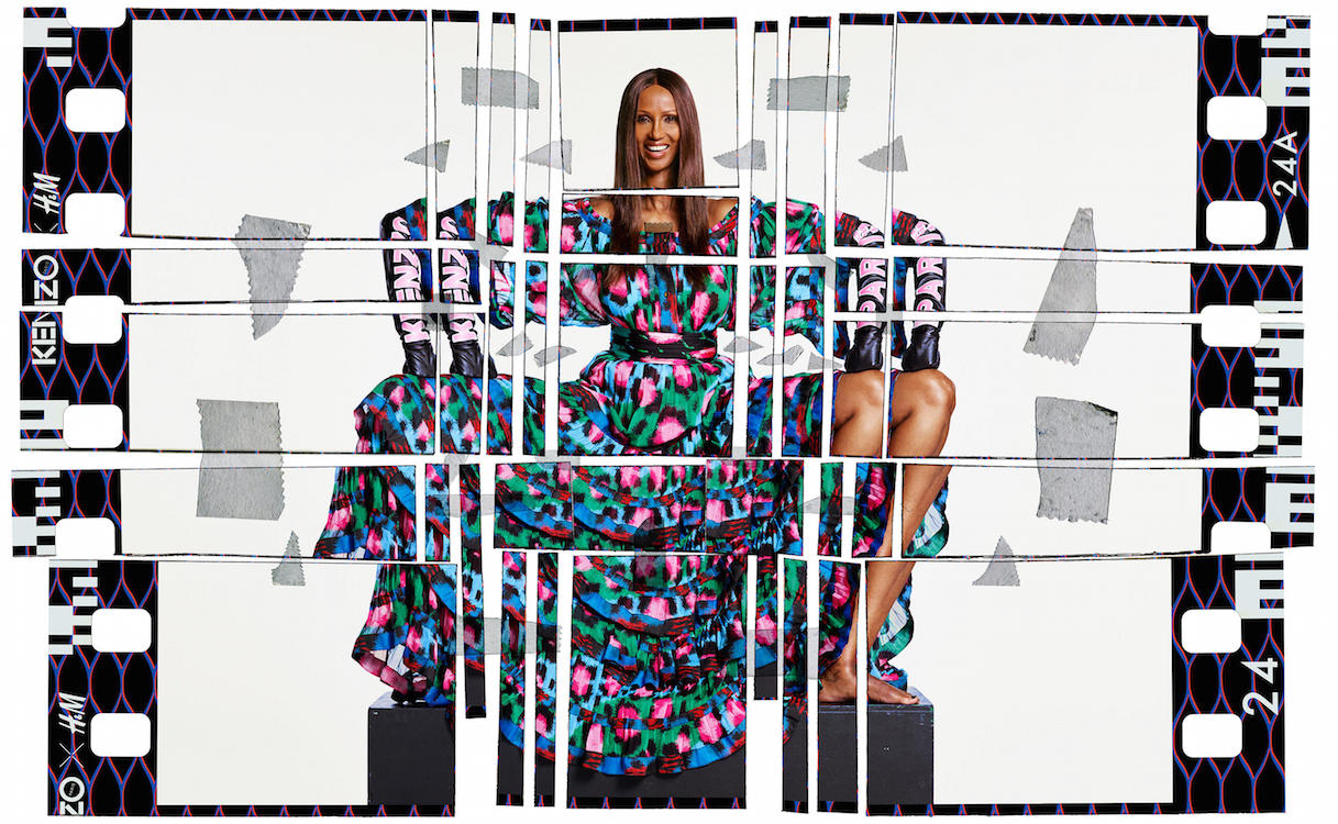 Here's your first look at the wildly colorful Kenzo x H&M collaboration