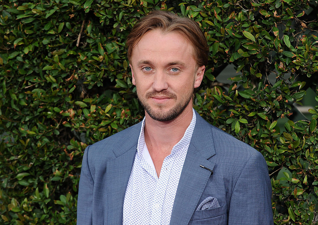 "Tom Felton's first ""Harry Potter"" red carpet appearance is magical AF"