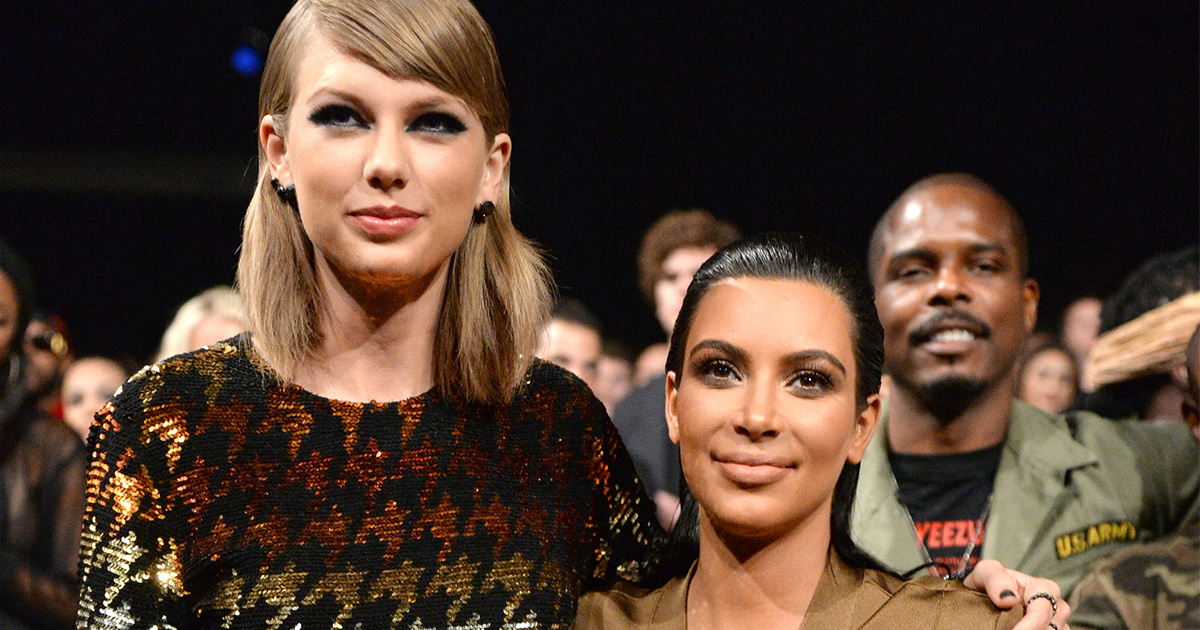 Kim Kardashian says she never had a feud with Taylor Swift, was just being honest
