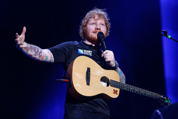 This Ed Sheeran pig statue (you read that right) sold for $8,000 for a very worthy cause