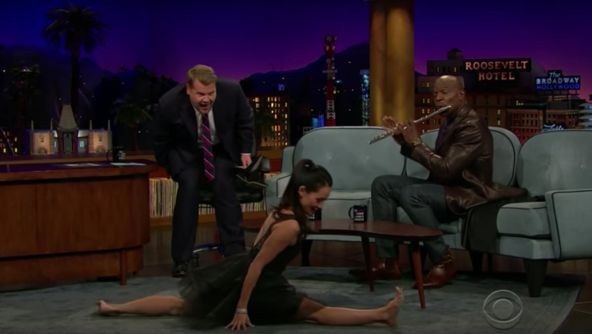 Lucy Liu and Terry Crews show James Corden their hidden talents and they're awesome AF!