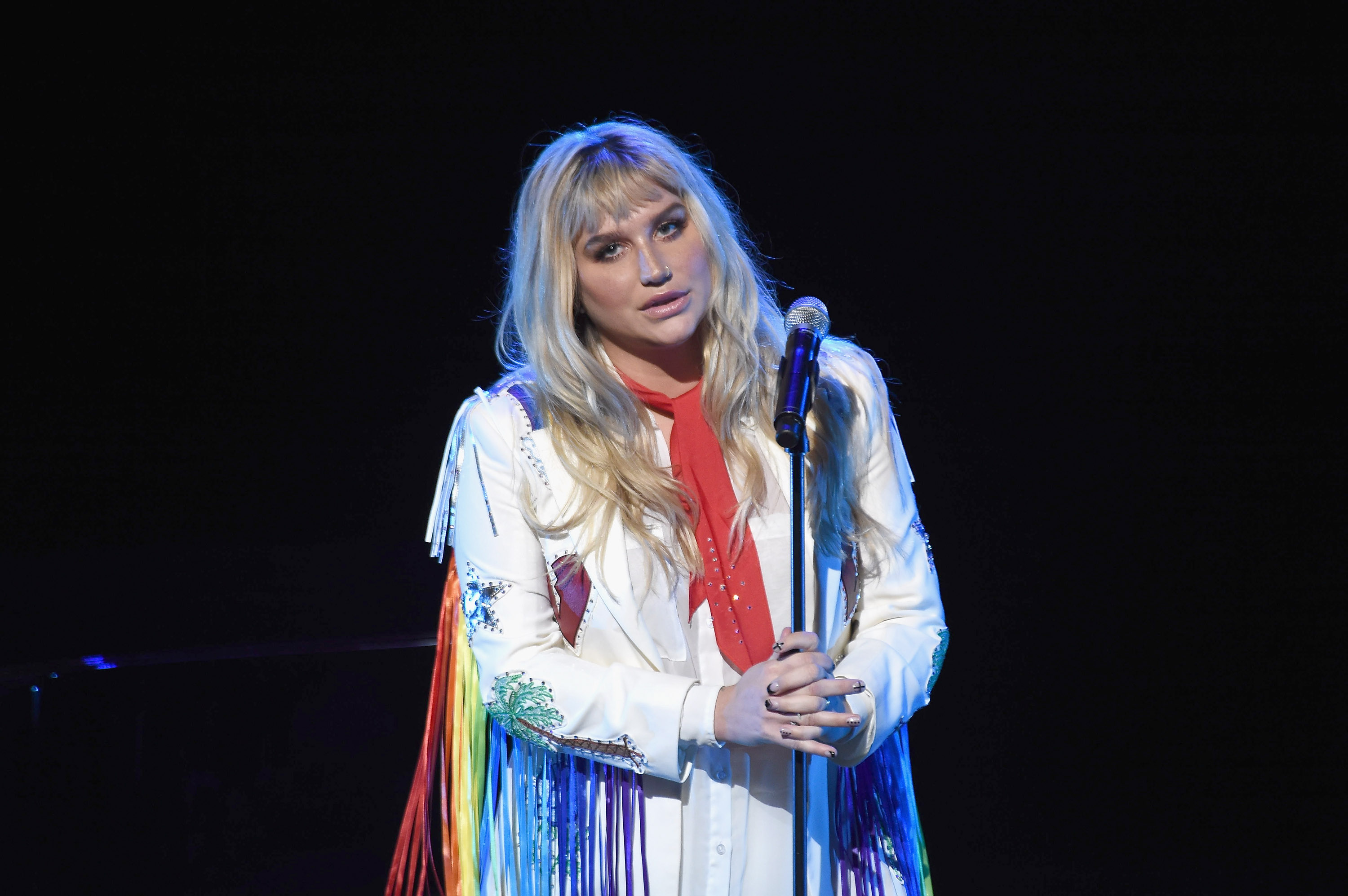 Kesha thanked her fans in a super powerful speech on Thursday, and WE'RE WITH YOU GIRL!
