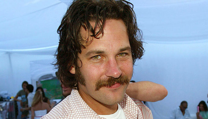 Let's take a moment to appreciate all the times Paul Rudd got ~creative~ with his facial hair