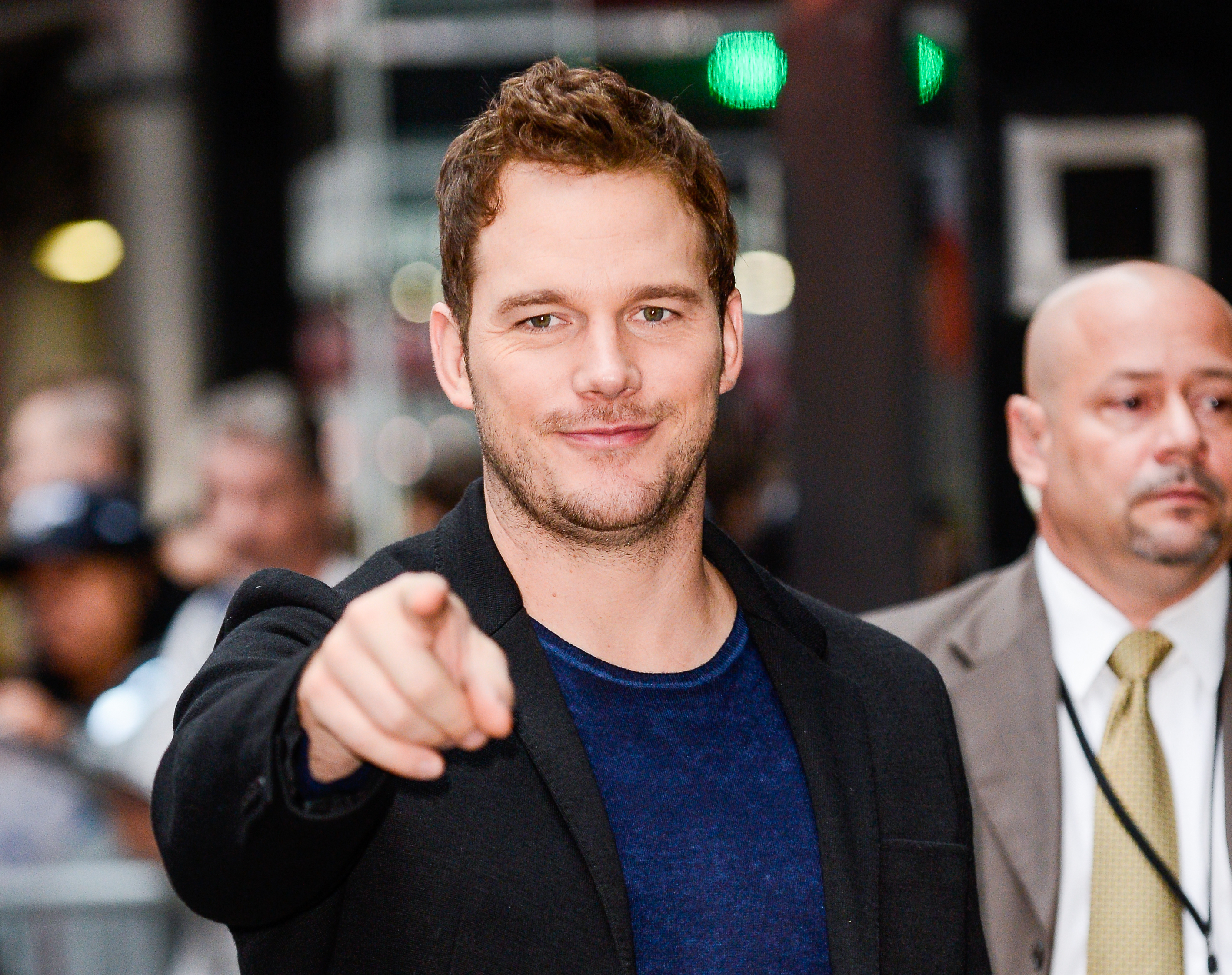 Chris Pratt was adorably boyish at his first red carpet premiere, and it's so charming