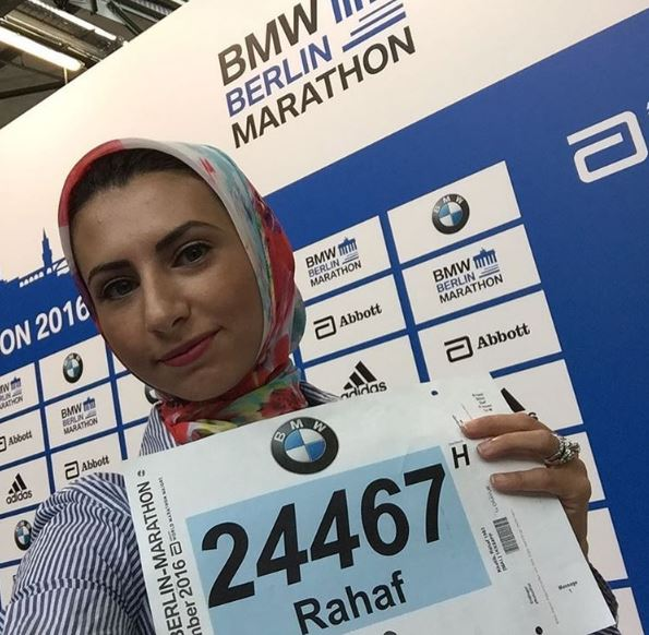 This hijab-wearing athlete just made history on the cover of Women's Running