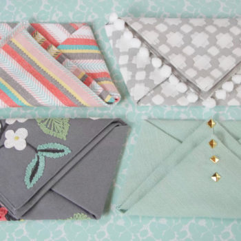 Here's how to make a chic clutch – zero sewing required