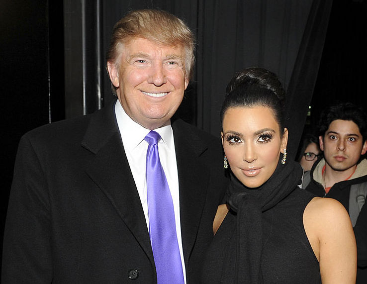 We are so confused by this news that Kim Kardashian wants to vote for Trump now