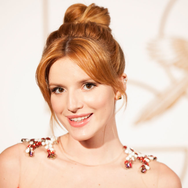 Bella Thorne celebrated her first Bi Visibility Day with the sweetest selfie