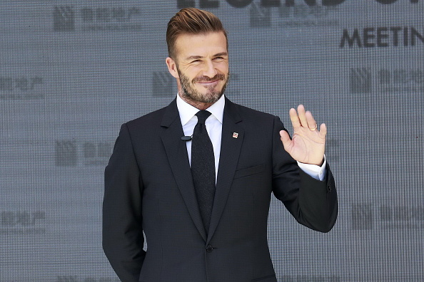 David Beckham did push-ups on Instagram — but not for the reason you think