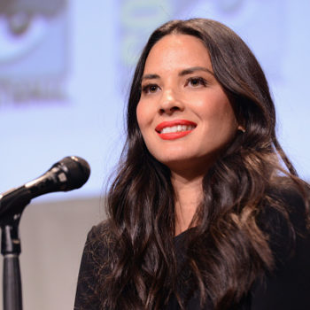 Olivia Munn sneaking free chocolate is our spirit animal