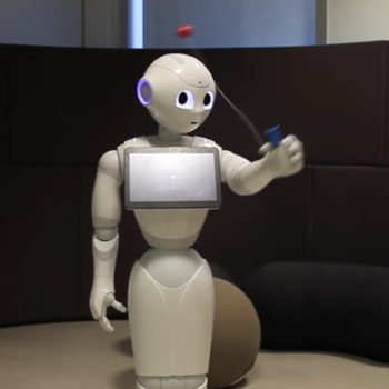 Here's a robot that is better at the ball and cup game than most humans because the future is now