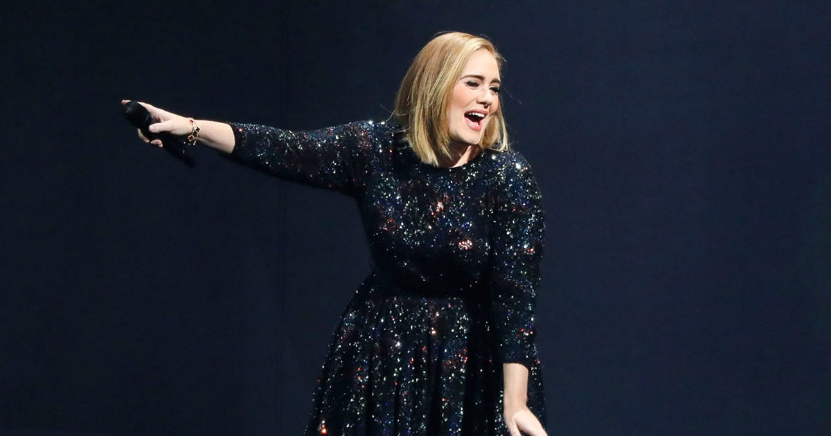 Here's how Adele ACTUALLY feels about Brangelina's split