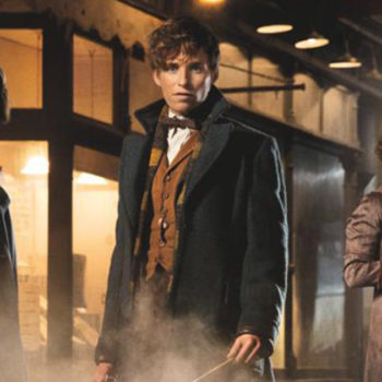 "Katherine Waterston had this amazing thing to say about comparing her ""Fantastic Beasts and Where to Find Them"" character to Hermione"