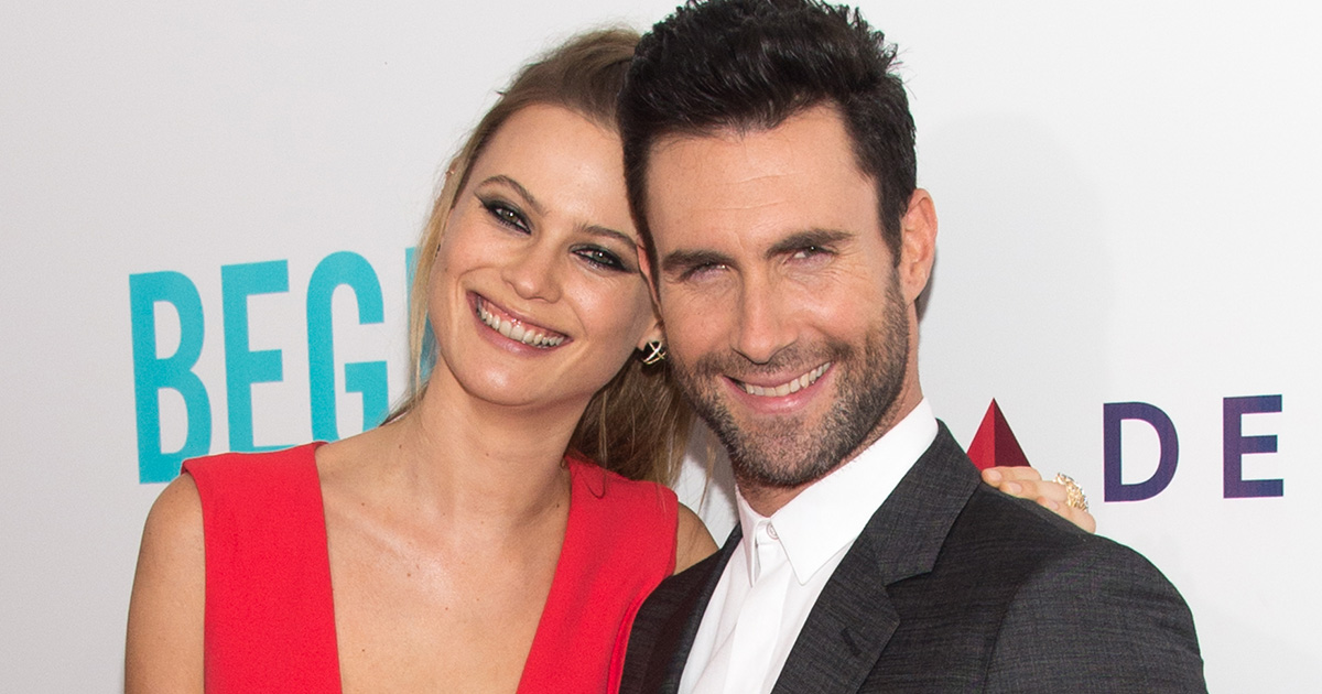 *CUTENESS ALERT* Adam Levine shared the first picture of his and Behati Prinsloo's beautiful newborn daughter and it's too much