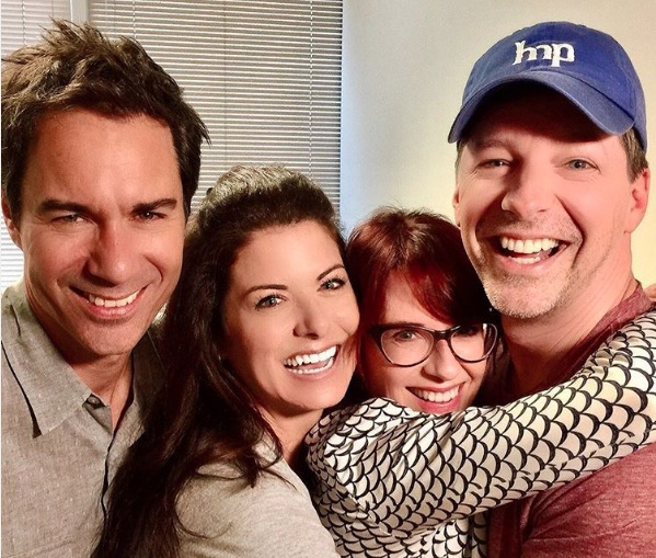 "The cast of ""Will & Grace"" reunited and it has us screaming COMEBACK"