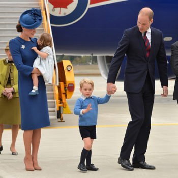 Prince George refused to high-five Justin Trudeau and we're laughing *and* cringing at the same time