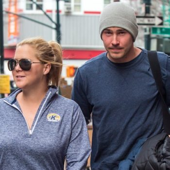 Amy Schumer kissed her bf on a giant kiss cam, and we're collectively awwwing