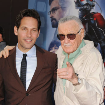 Stan Lee has already filmed some of his future Marvel cameos, proving he's a superhero, too