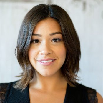 Gina Rodriguez's little black dress is slaying our souls with a lovely lacy surprise