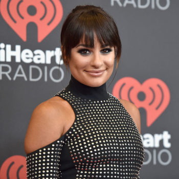 "Lea Michele has a crush on Zac Efron and we're like, ""Same"""
