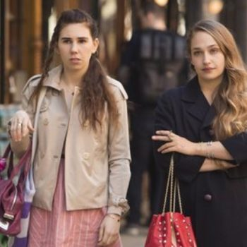 """The cast of """"Girls"""" reacting to the show being over is making us super weepy"""
