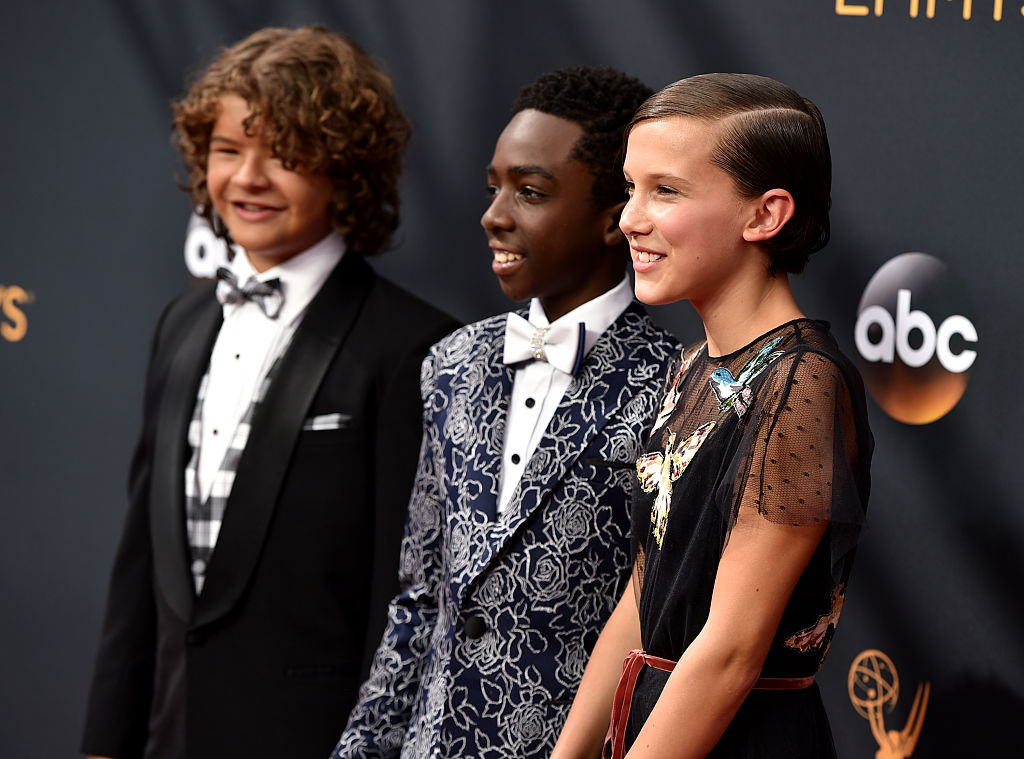 "If these Instagrams are true, then the ""Stranger Things"" kids are modeling for a major fashion brand"