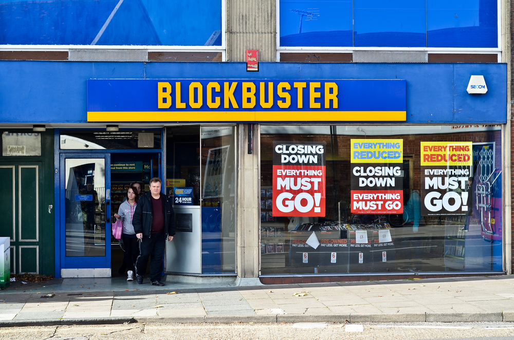 "This video of an ""abandoned"" Blockbuster has a bonkers twist"