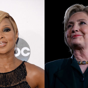 Mary J Blige is set to interview Hilary Clinton and it looks emotional
