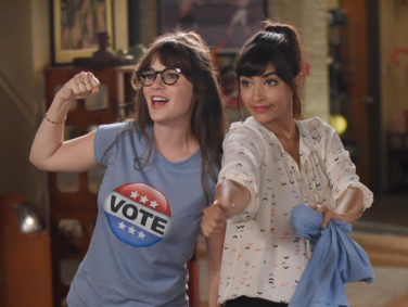 """New Girl"" is airing an election episode TONIGHT, and we're super excited for Zooey Deschanel's Donald Trump impersonation"