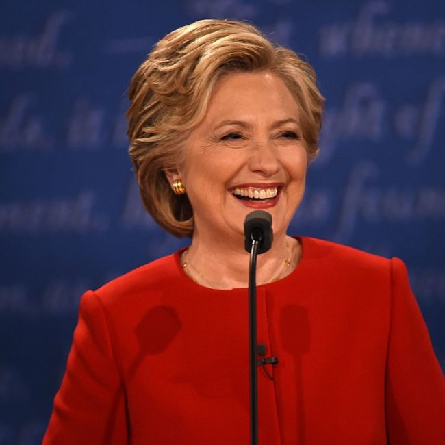 Hillary Clinton won the debate last night with this single sentence
