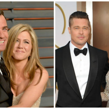 Justin Theroux has some harsh words for anyone dragging Jennifer Aniston's name into the Brad and Angelina split