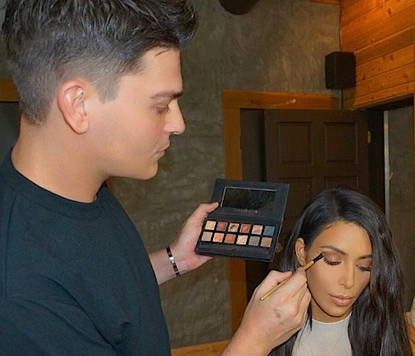 These are the two surprisingly affordable products Kim Kardashian's makeup artist uses to clean brushes