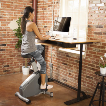 This hybrid desk bike just went on the market, and we're intrigued