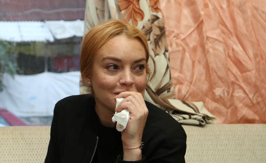 Lindsay Lohan low-key visited Syrian refugees in Turkey, and the photos are so sweet