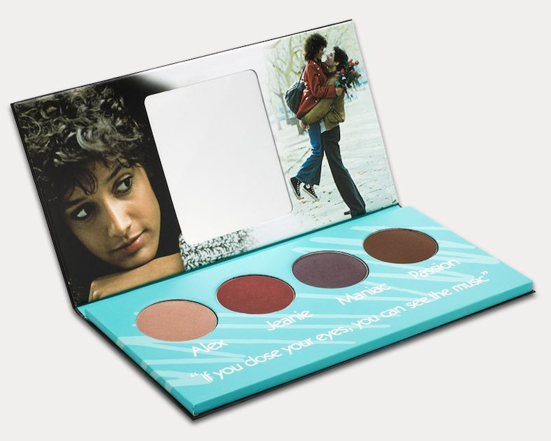 """There is a """"Flashdance""""-themed eyeshadow palette and it is as amazing as it sounds"""