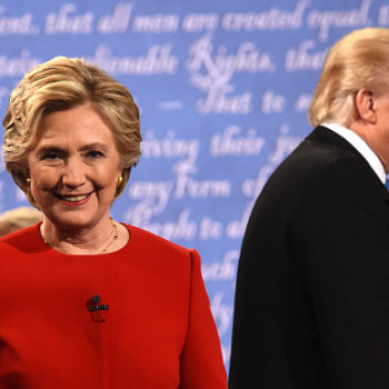 Hillary Clinton unleashed the sickest of burns when Trump complained about his microphone at the debate