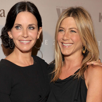 Courtney Cox wants everyone to leave Jennifer Anniston alone, thank you very much
