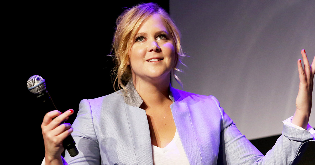 Amy Schumer just broke this record and we couldn't be more proud