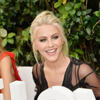 Julianne Hough is seriously pulling off this red carpet GOTH lewk
