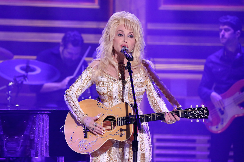 Dolly Parton talks about the fashion-related inspiration for her latest single in this exclusive video for HelloGiggles