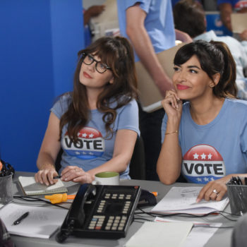 "Our favorite LOL-worthy moments from the ""New Girl"" election episode"