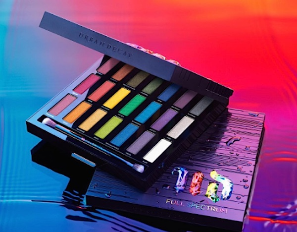 Urban Decay's newest eyeshadow palette is truly a rainbow explosion