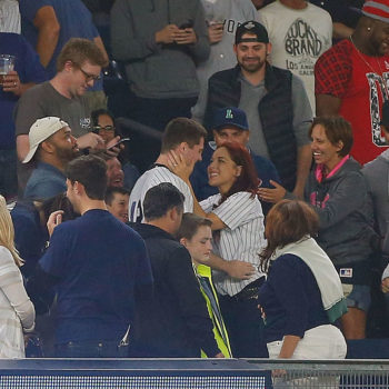This guy dropped the engagement ring while proposing in front of a huge crowd at Yankee stadium, but still won