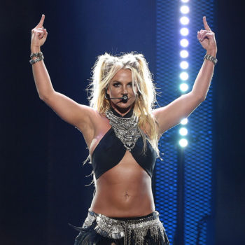 Britney Spears avoided doing a backflip in the middle of her show, and we understand why