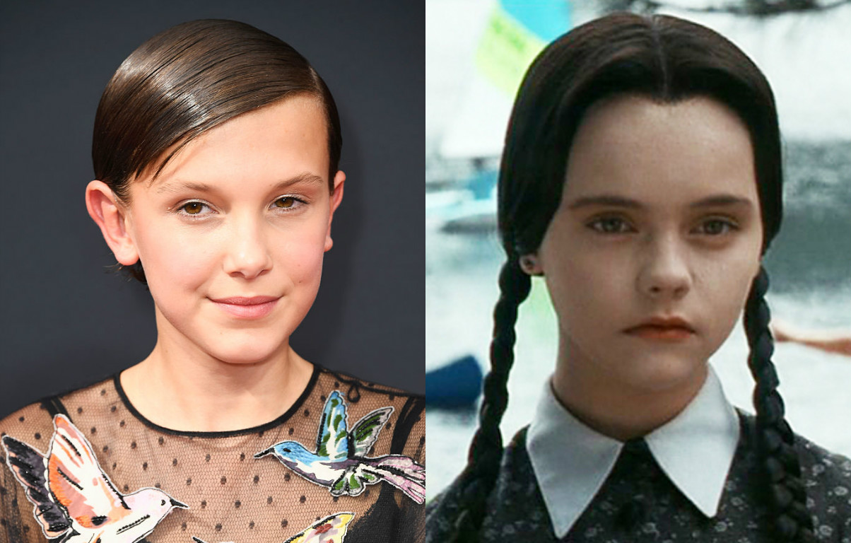Millie Bobby Brown wore the Wednesday Addams dress of our dreams (and you can buy it at the mall)